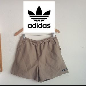 Adidas Adventure Mesh Tan Pockets Shorts
